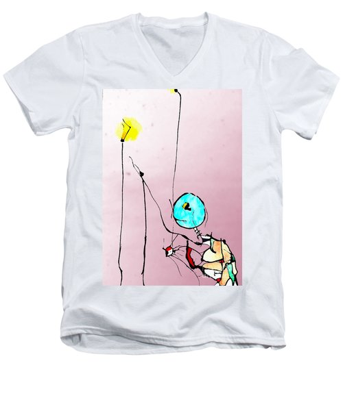 Lamplight Men's V-Neck T-Shirt