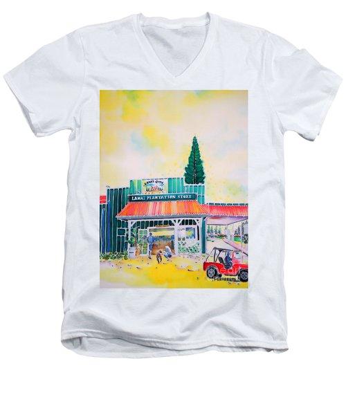Lanai City Men's V-Neck T-Shirt