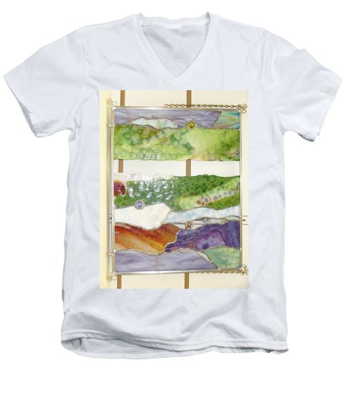 Landscape 2 Men's V-Neck T-Shirt