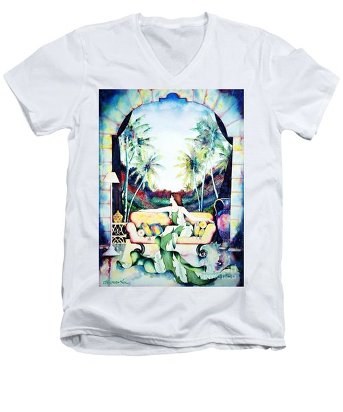 Laura Men's V-Neck T-Shirt