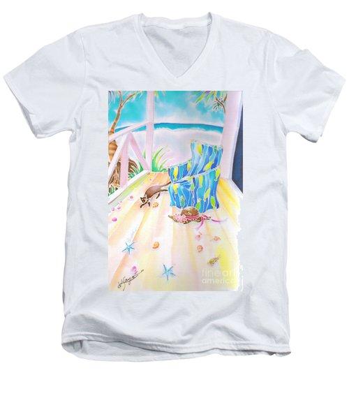 Lazy Afternoon Men's V-Neck T-Shirt