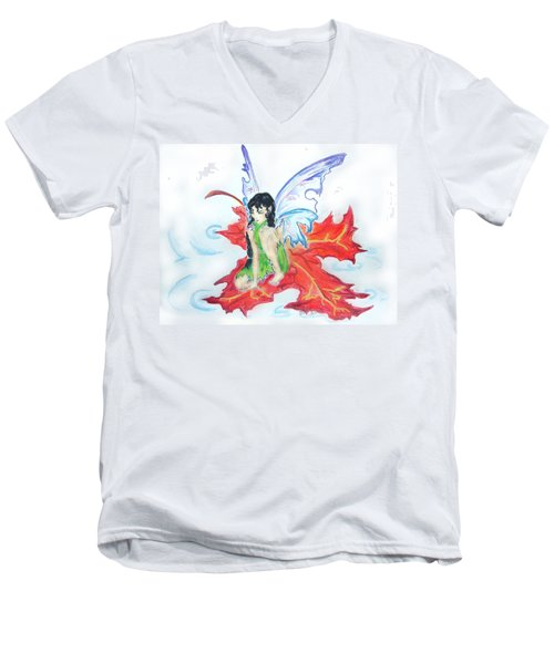 Leaf Fairy Men's V-Neck T-Shirt