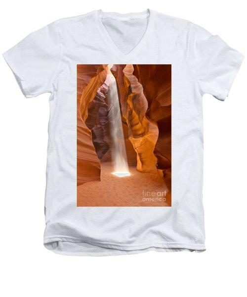 Let The Light Shine Men's V-Neck T-Shirt