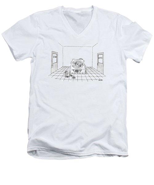 'life Cycle' Men's V-Neck T-Shirt
