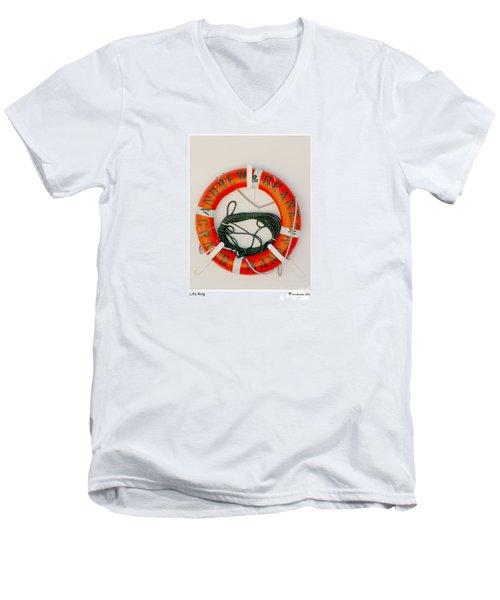 Life Ring Men's V-Neck T-Shirt