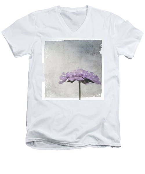 Lilac Men's V-Neck T-Shirt
