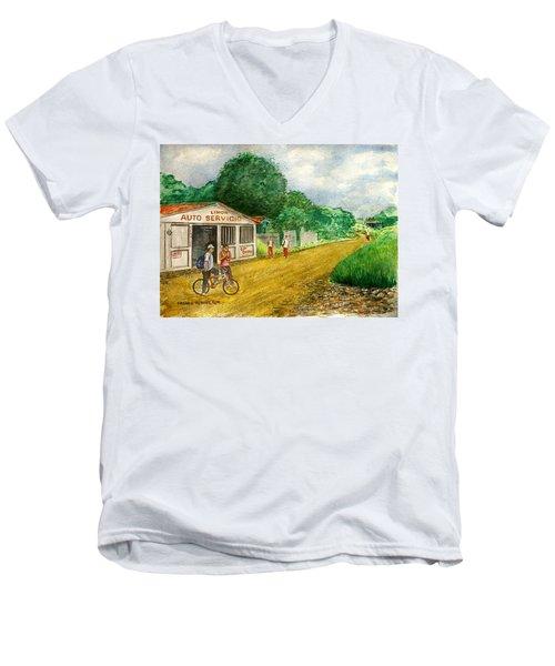 Limon Costa Rica Men's V-Neck T-Shirt
