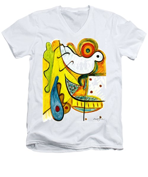 Linda Paloma Men's V-Neck T-Shirt
