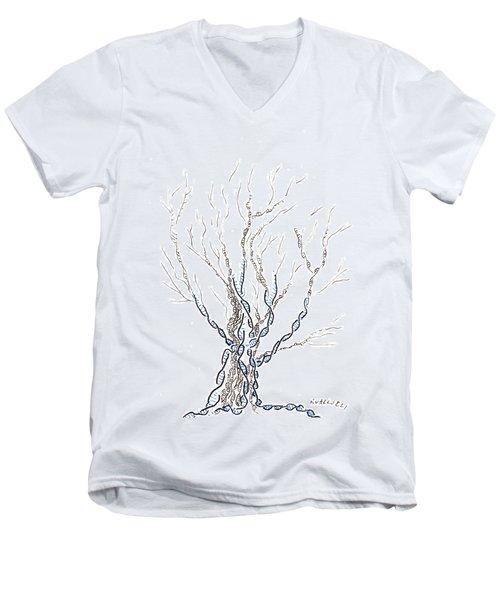 Little Dna Tree Men's V-Neck T-Shirt