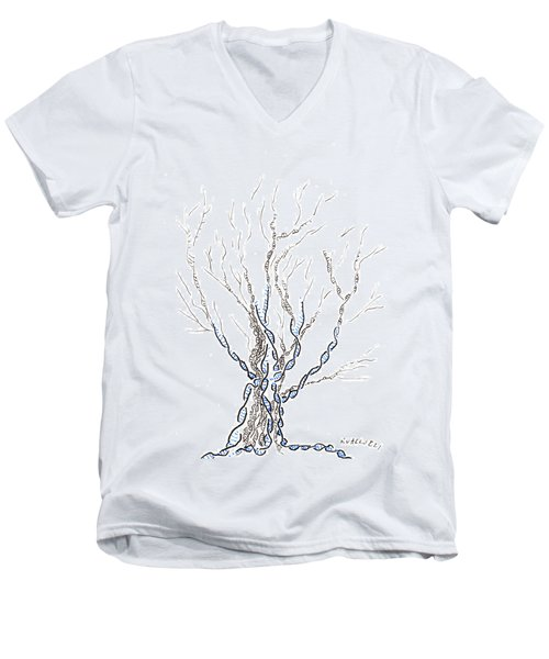 Little Dna Tree Men's V-Neck T-Shirt