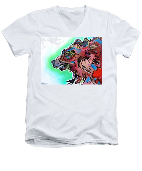 Little Griz Men's V-Neck T-Shirt