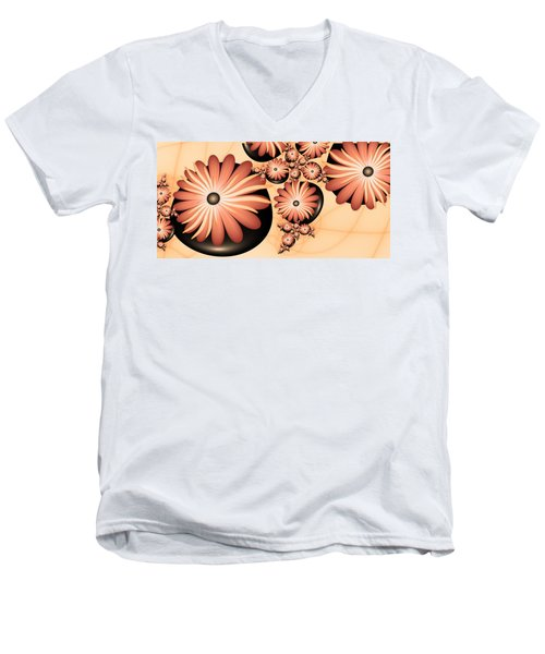 Living Stones Men's V-Neck T-Shirt