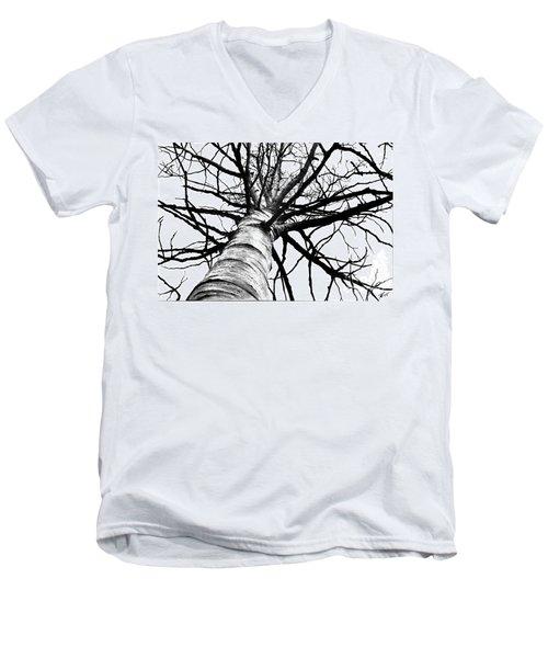 Lone Birch Men's V-Neck T-Shirt