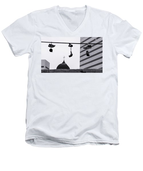 Lost Soles - Urban Metaphors Men's V-Neck T-Shirt