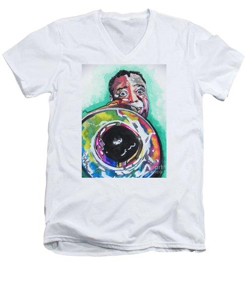 Louis Armstrong Men's V-Neck T-Shirt