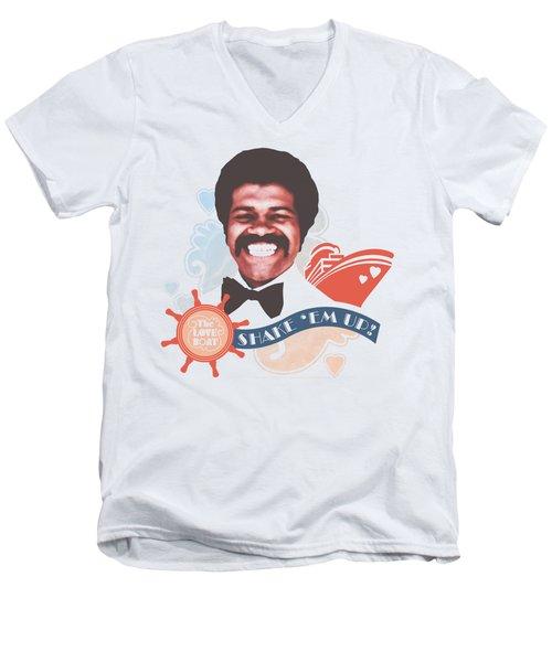 Love Boat - Shake Em Up Men's V-Neck T-Shirt