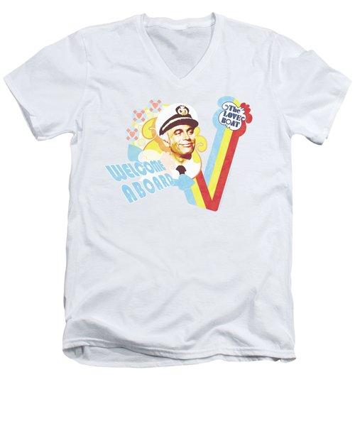 Love Boat - Welcome Aboard Men's V-Neck T-Shirt