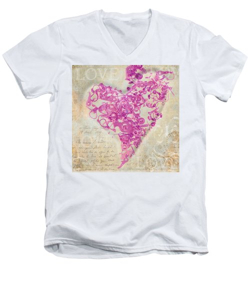 Love Is A Gift Men's V-Neck T-Shirt