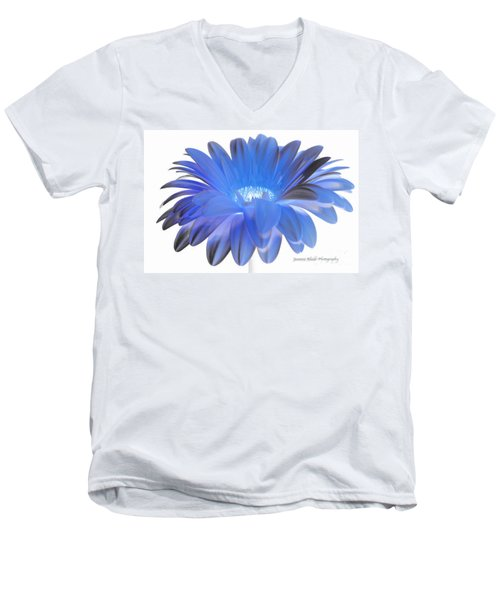 Men's V-Neck T-Shirt featuring the digital art Love Is A Gift by Jeannie Rhode