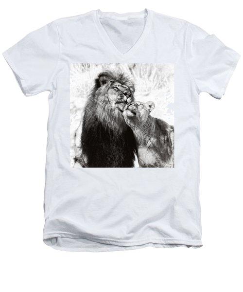 Love Ya You Big Lug Men's V-Neck T-Shirt