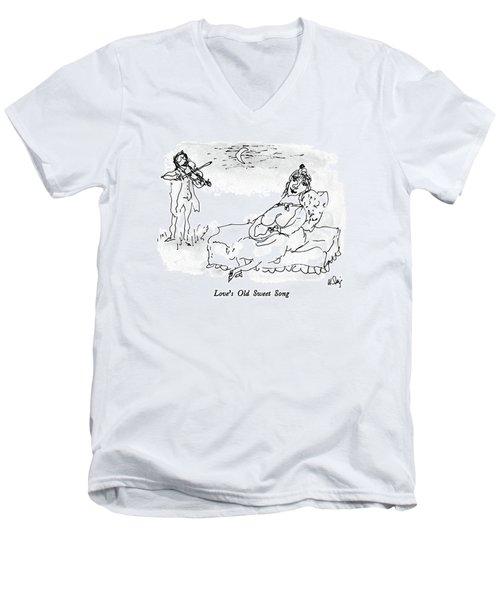Love's Old Sweet Song Men's V-Neck T-Shirt