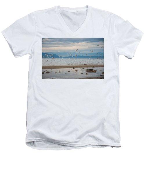 Herring Season  Men's V-Neck T-Shirt