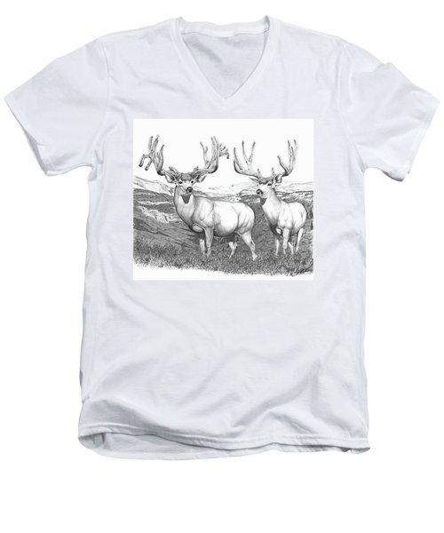 Lowe Buck Men's V-Neck T-Shirt