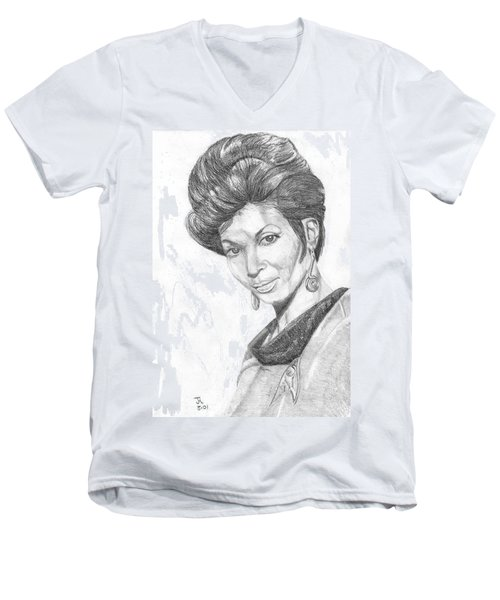 Lt. Uhura Men's V-Neck T-Shirt