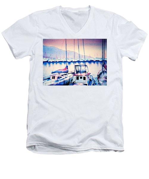 Maalaea Harbor Men's V-Neck T-Shirt