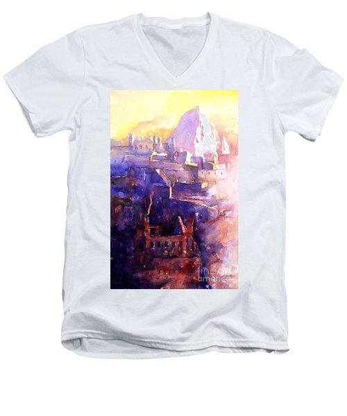 Machu Pichu- Peru Men's V-Neck T-Shirt