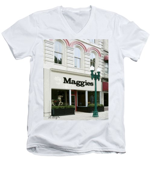 Maggie's Men's V-Neck T-Shirt