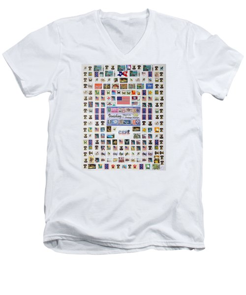 Men's V-Neck T-Shirt featuring the photograph Magnificent Collections by Lorna Maza
