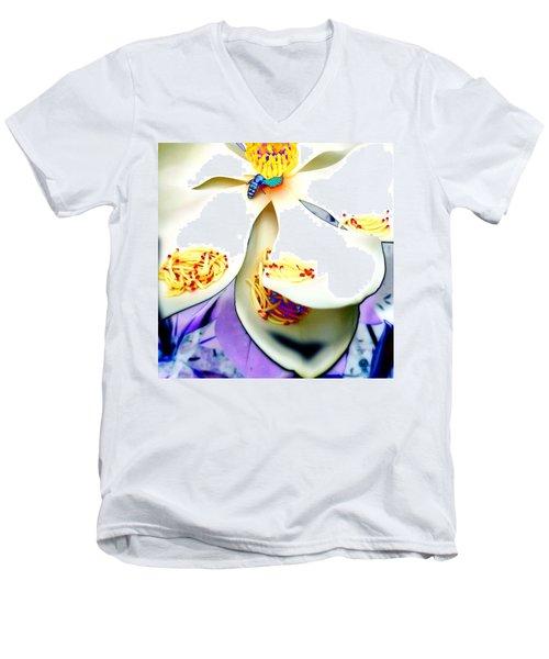 Magnolia Bee Men's V-Neck T-Shirt