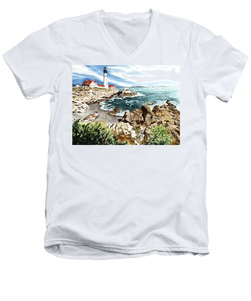 Maine Attraction Men's V-Neck T-Shirt
