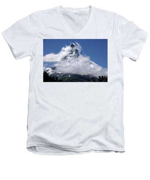 Majestic Mountain  Men's V-Neck T-Shirt