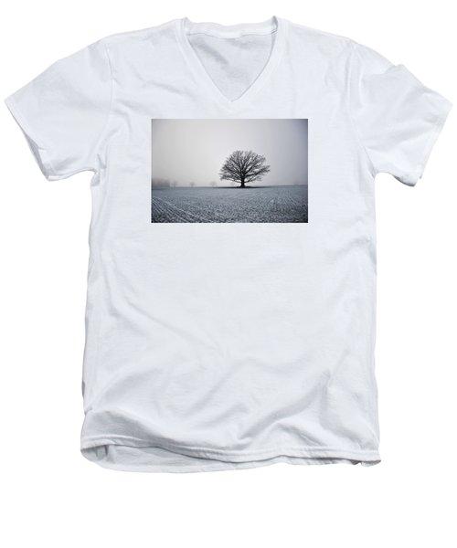 Majestic Men's V-Neck T-Shirt by Randi Grace Nilsberg