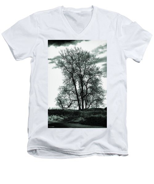 Men's V-Neck T-Shirt featuring the photograph Majesty by Lauren Radke