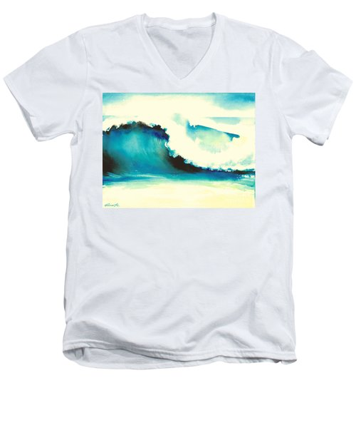 Makena Maui Men's V-Neck T-Shirt