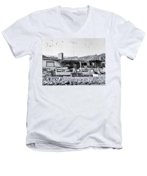 Malibu Beach House - 1960 Men's V-Neck T-Shirt
