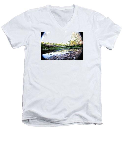 Man Down Men's V-Neck T-Shirt by Joel Loftus
