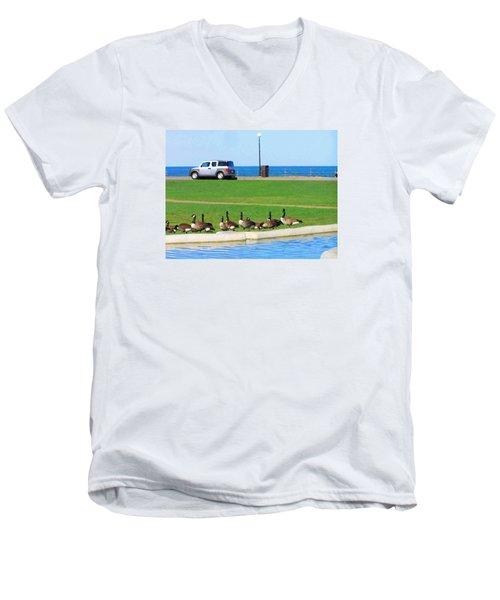 Martha Vineyard Men's V-Neck T-Shirt