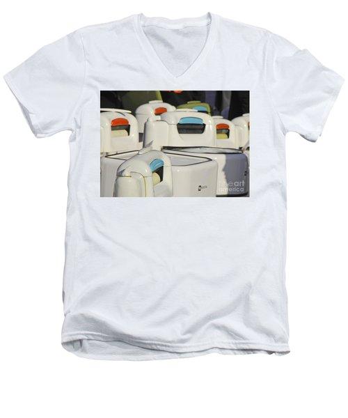 Maytag Men's V-Neck T-Shirt by Mary Carol Story