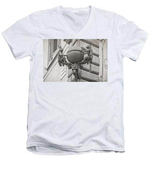 Medieval Alarm Men's V-Neck T-Shirt