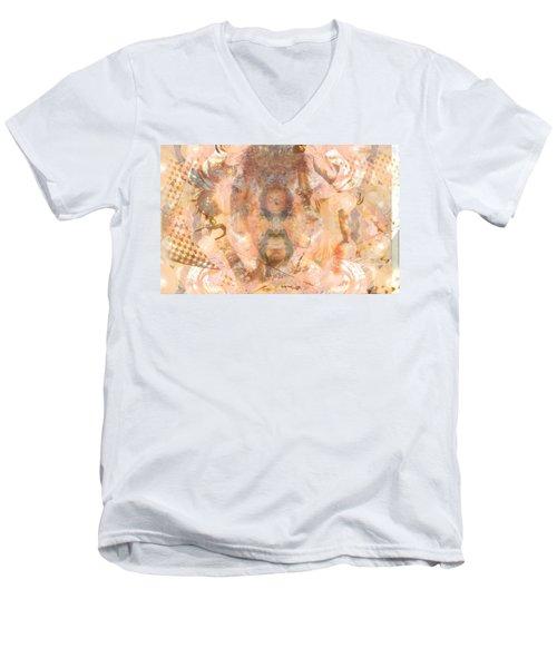 Melting Mer Tribe Men's V-Neck T-Shirt by Deprise Brescia