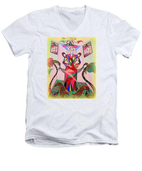 Eleonore Sweet 16th Men's V-Neck T-Shirt