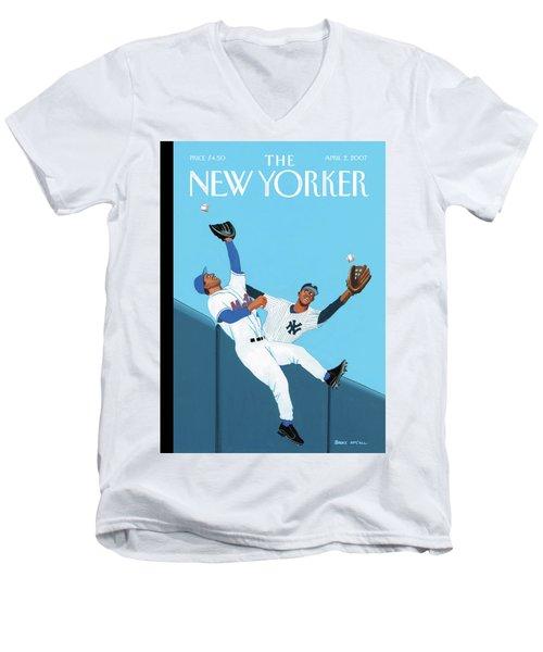 Double Take Men's V-Neck T-Shirt