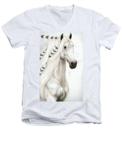 Midwinter Moon Men's V-Neck T-Shirt