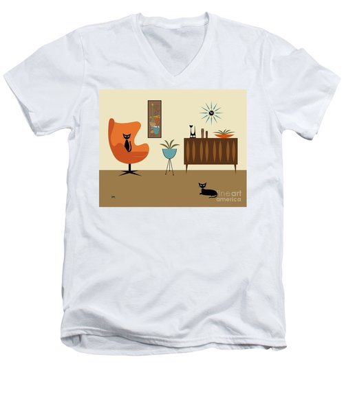 Mini Gravel Art 3 Men's V-Neck T-Shirt