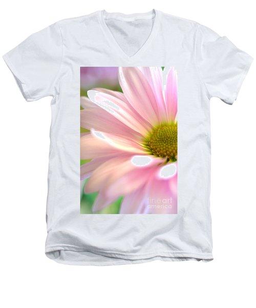 Miss Daisy Men's V-Neck T-Shirt by Deb Halloran