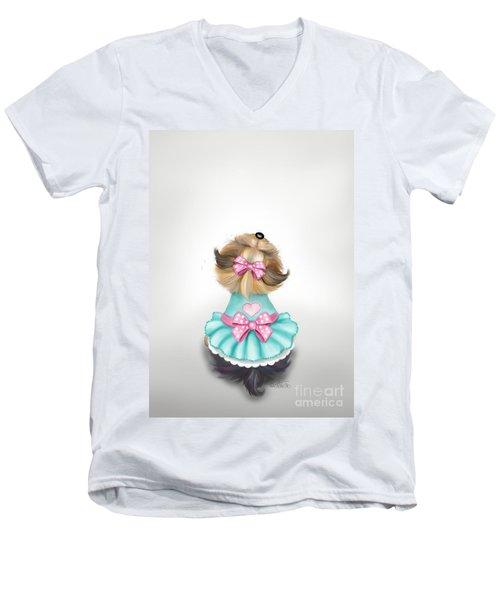 Miss Pretty Men's V-Neck T-Shirt
